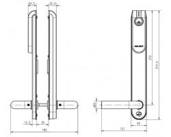 Беспроводной щиток E100 SCAND blind Standard