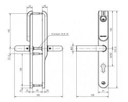 Беспроводной щиток E100P Premium Inside blind