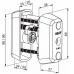 CYL065 ABLOY электромеханический цилиндр CLIQ КЛЮЧ-КЛЮЧ финского стандарта