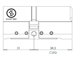 CYL332 цилиндр CLIQ
