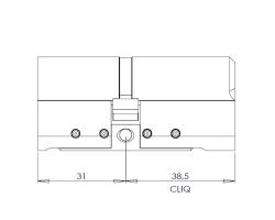 CYL322 цилиндр CLIQ