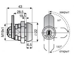 CL103 ABLOY -  замок для оборудования