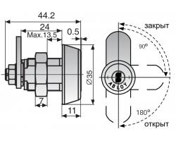 CL110 ABLOY - замок для оборудования усиленный